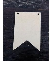 Proporczyk z HDF 15x10 - baza do decoupage DekorWood
