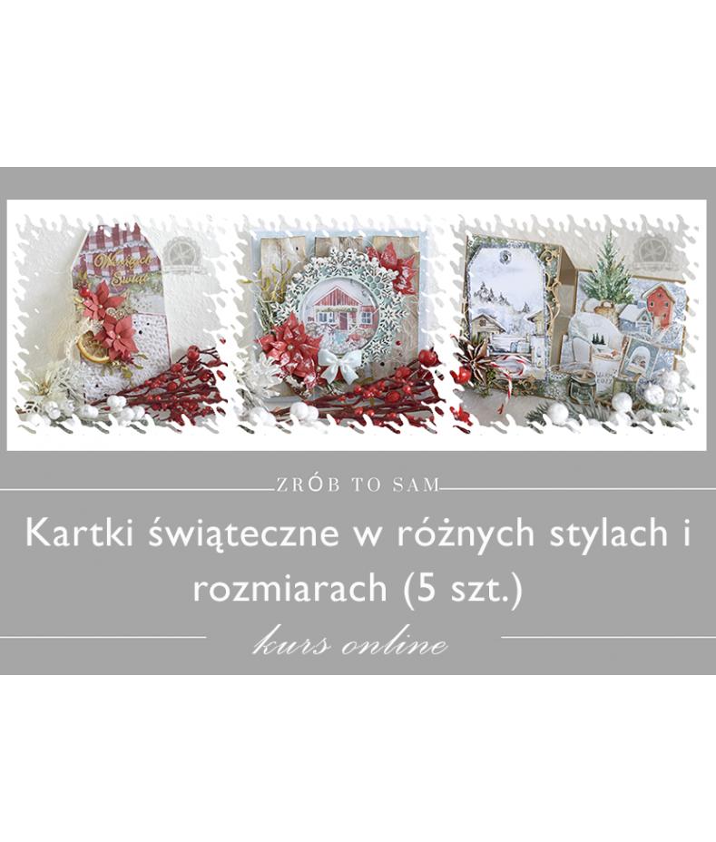 Kartki świąteczne - kurs online