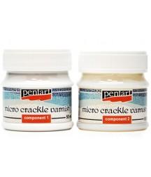 Dwuskładnikowy preparat do spękań Pentart Micro Crackle