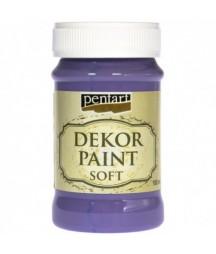 Farba kredowa Dekor Paint Soft Pentart 25226, lila