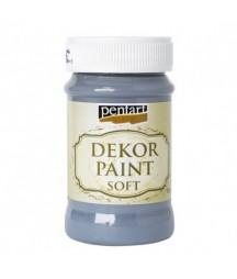 Farba kredowa Dekor Paint Soft Pentart 21648, atramentowa
