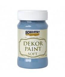 Farba kredowa Dekor Paint Chalky Pentart 21647, jeansowy
