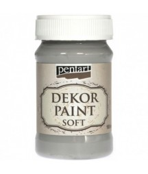 Farba kredowa Dekor Paint Chalky Pentart 21639, szara