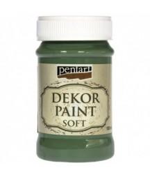 Farba kredowa Dekor Paint Chalky Pentart 25225, zgniła zieleń