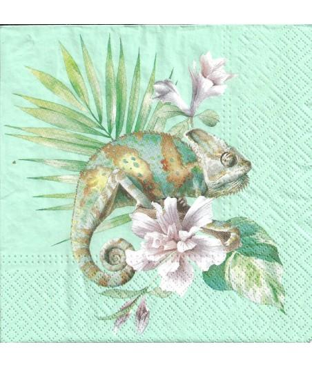 Serwetka do decpupage - Kameleon