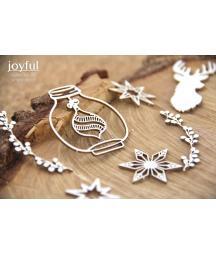Elementy tekturowe Scrapiniec, Joyful - Tradycje rodzinne 5611