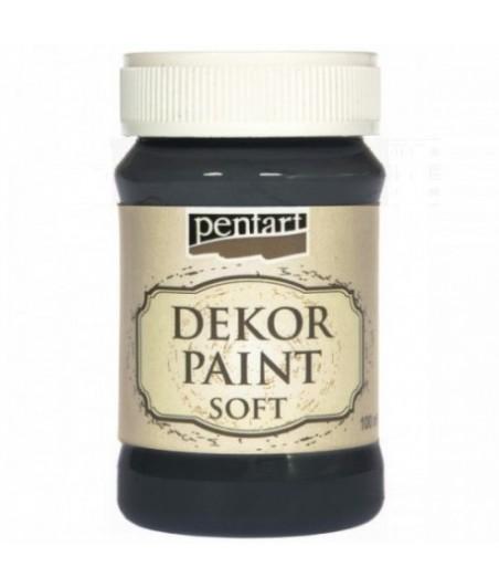 Farba kredowa Dekor Paint Chalky Pentart 21481, czarna