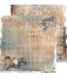 Papier do scrapbookingu Age of Gentleman 06 Craft O'Clock