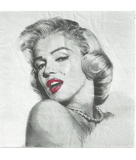 Serwetka do decoupage - Marilyn Monroe