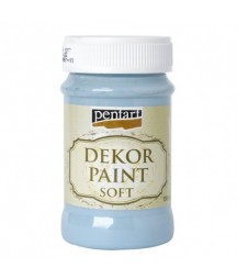 Farba kredowa Pentart, flax blue - niebieski len