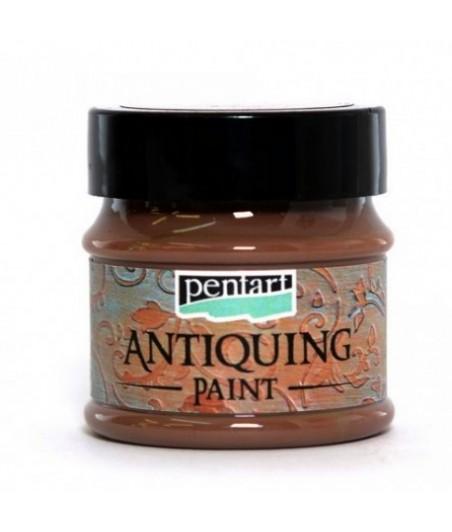 Farba antyczna Pentart 50 ml, ciemny brąz