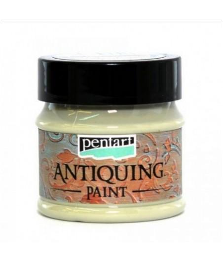 Farba antyczna Pentart 50 ml, kremowa zieleń