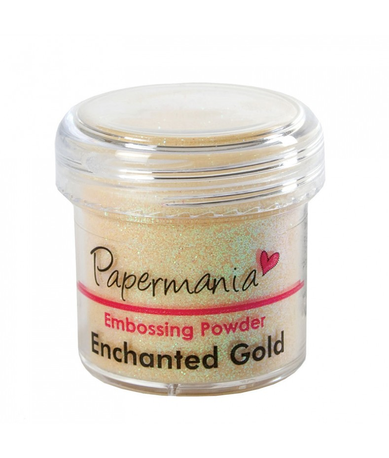 Puder do embossingu Papermania, Enchanted gold - złoty