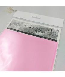 Folia perłowa do klejenia na zimno, różowa