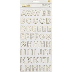 Alfabet samoprzylepny, DIY...