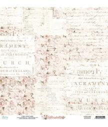 Papier do scrapbookingu 12x12, Florabella 05 Mintay Papers