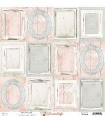 Papier do scrapbookingu 12x12, Florabella 06 Mintay Papers