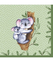 Serwetka do decoupage - Koala