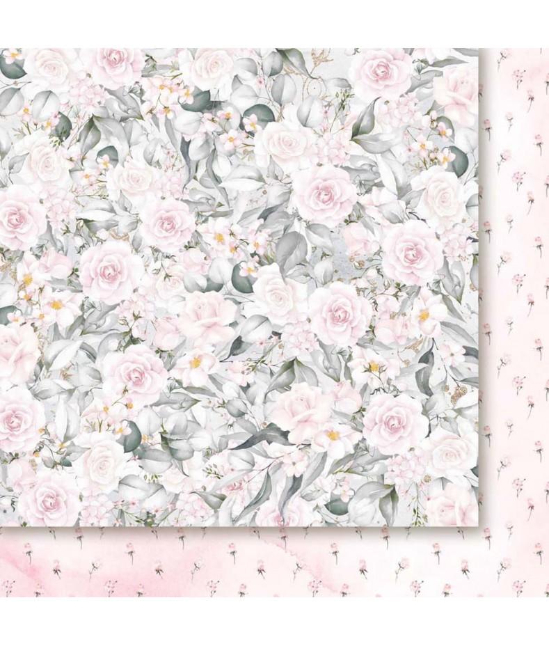 Pierścień i róża 04 - papier do scrapbookingu od Galerii Papieru / Paper Heaven