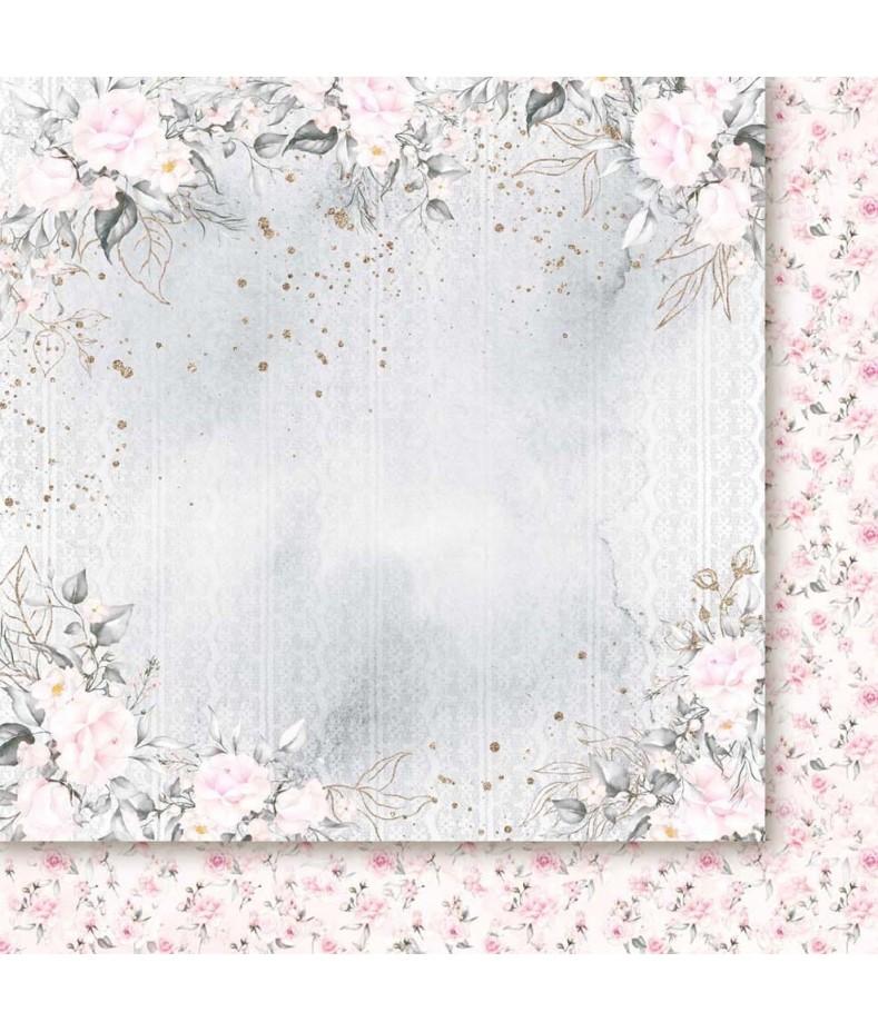 Pierścień i róża 06 - papier do scrapbookingu od Galerii Papieru / Paper Heaven