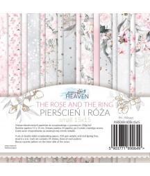 Zestaw papierów do scrapbookingu, mały bloczek Pierścień i róża - Paper Heaven