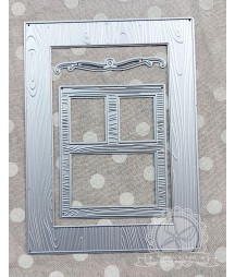 Wykrojniki do papieru, Drewniane okiennice
