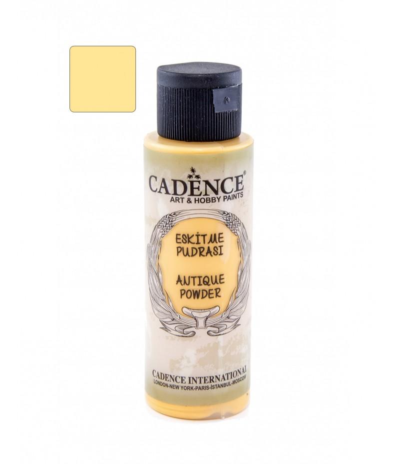 Puder antyczny postarzający Cadence, utleniony żółty, 70 ml