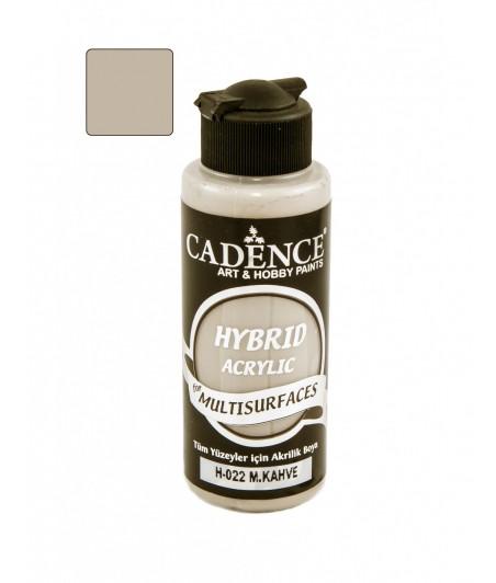 Akrylowa farba hybrydowa Cadence, collier brown - szarobrązowy H-022