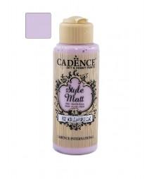 Matowa farba akrylowa Cadence Style Matt 120 ml, purpurowa lila