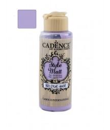 Matowa farba akrylowa Cadence Style Matt 120 ml, fiołkoworóżowy