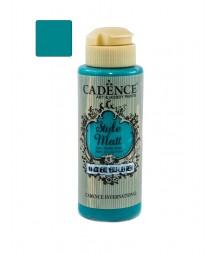Matowa farba akrylowa Cadence Style Matt 120 ml, jasna morska zieleń