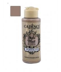 Matowa farba akrylowa Cadence Style Matt 120 ml, beżowa