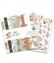 Zestaw papierów do scrapbookingu Forest tea party - P13 Piątek Trzynastego