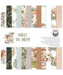 Zestaw papierów do scrapbookingu 12x12, Forest tea party P13