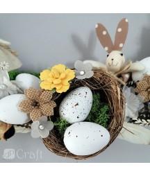 Gniazdka ptasie do dekoracji i ozdabiania, 7 cm 4 szt. DPWL-012