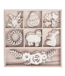 Dekory ze sklejki DP Craft - Wielkanoc