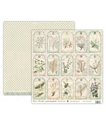 Papier do scrapbookingu UHK Gallery, Enola Holmes - Chrysantemums