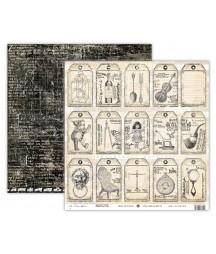 Papier do scrapbookingu UHK Gallery, My Dear Watson - Motive
