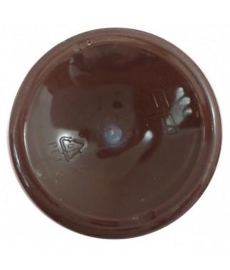 Farba akrylowa 50 ml - ciemnobrązowa - doskonała do decoupage