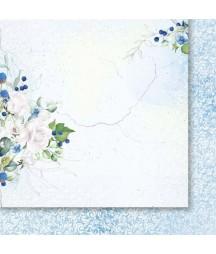 Spacer w chmurach 01 - papier do scrapbookingu od Galerii Papieru / Paper Heaven