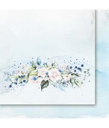 Spacer w chmurach 02 - papier do scrapbookingu od Galerii Papieru / Paper Heaven