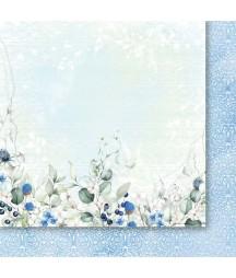 Spacer w chmurach 03 - papier do scrapbookingu od Galerii Papieru / Paper Heaven