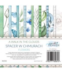 Zestaw papierów do scrapbookingu Spacer w chmurach flowers - dodatki - Paper Heaven