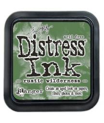 Tusz postarzający do papieru Distress Ink, Rustic Wilderness - zielona