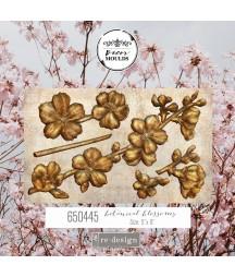 Forma silikonowa do mas strukturalnych Prima 650445, Botanical Blossoms - kwiaty