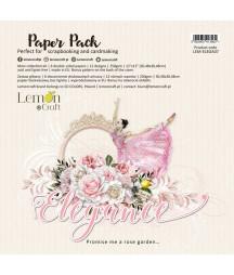 Zestaw papierów do scrapbookingu 30x30 Elegance - Lemoncraft