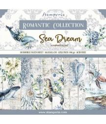 Papiery do scrapbookingu, Sea Dream SBBL87 Stamperia - bloczek
