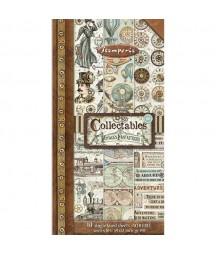 Bloczek do scrapbookingu 15x30 cm Voyages Fantastiques Stamperia SBBV03