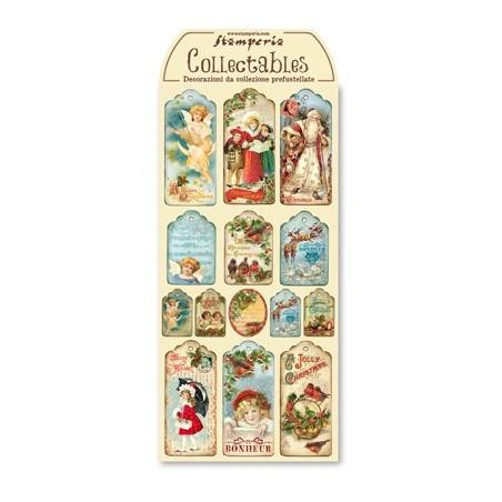 Arkusz etykiet świątecznych [DFTG001]