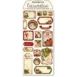 Arkusz etykiet świątecznych...